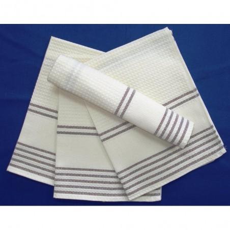 Pracovní froté ručník bílý 50 x 100 cm