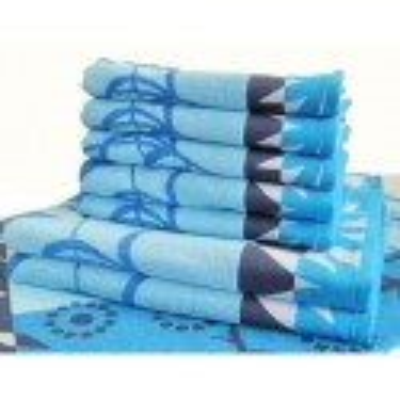 Froté osuška modrá 70x140 cm 500g/m2