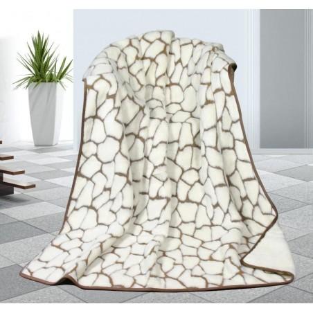 Kašmírová vlněná deka DUO 155x200cm