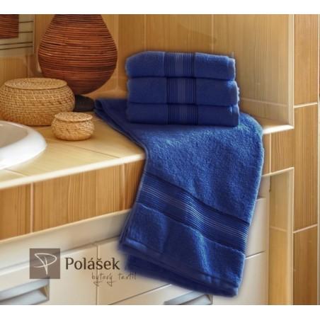 Frote ručník modrý 50x100 cm