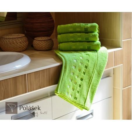 Frote ručník zelený 50x100 cm 500 g/m2