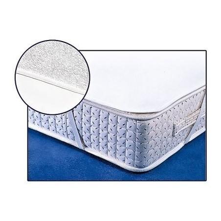 Matracový chránič bílý voděodolný 200x200 cm s PVC