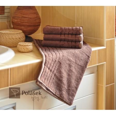 Bambusový ručník čokoládový 50/100 cm 600 g/m2