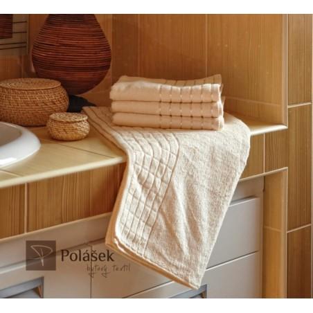 Bambusový ručník smetanový 50/100 cm 600 g/m2