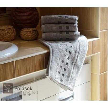 Froté ručník šedý 50x100 cm 500g