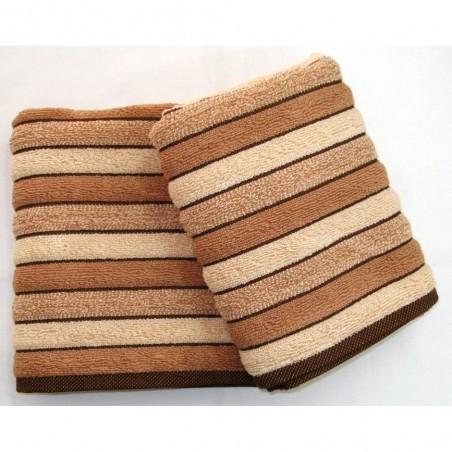Froté ručník hnědý 50/100 cm 500gr/m2