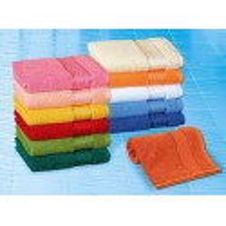 Froté ručník barevný 50x100 cm 450g